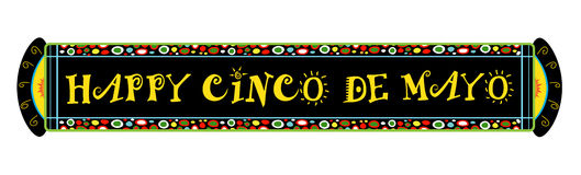 Cinco De Mayo Festive Banner libre illustration