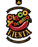 Cinco De Mayo fiestaaffisch royaltyfri illustrationer