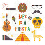 Cinco de Mayo (fifth of May Day). Vector illustration Stock Image