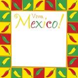 Cinco De Mayo!. Funky Viva Mexico card in vector format