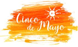 Cinco de Mayo grunge background vector illustration