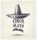 Cinco De Mayo. Holiday poster, eps 10