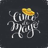 Cinco de Mayo-illustratie royalty-vrije illustratie