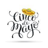 Cinco de Mayo illustration Royalty Free Stock Photography