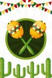 Мексиканськое cinco de mayo бесплатная иллюстрация