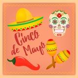 Cinco de Mayo Mexican-festival Royalty-vrije Stock Foto