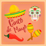 Cinco de Mayo Mexican festival Royalty Free Stock Photo