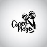 Cinco de mayo, Mexican fiesta banner and poster design . Vector Royalty Free Stock Photos