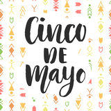 Cinco de Mayo. Mexican holiday poster Stock Photo