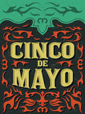 Cinco de mayo - mexican holiday Royalty Free Stock Photos
