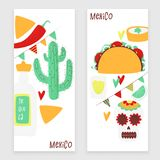 Cinco de mayo. Mexican vector design banner concept with taco stock illustration