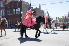 Cinco De Mayo Parade Chicago 2017 Royalty-vrije Stock Afbeeldingen