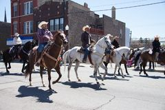 Cinco De Mayo Parade Chicago 2017. Chicago, Illinois, USA - May 07, 2017, The Cinco De Mayo Parade is held to remember the victory the Mexican forces had over Royalty Free Stock Images