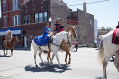 Cinco De Mayo Parade Chicago 2017. Chicago, Illinois, USA - May 07, 2017, The Cinco De Mayo Parade is held to remember the victory the Mexican forces had over Royalty Free Stock Image
