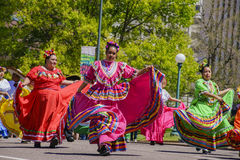 Cinco de Mayo Parade famoso imagens de stock royalty free