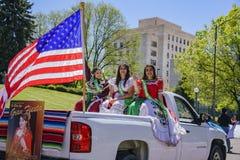 Cinco de Mayo Parade famoso fotografia stock libera da diritti