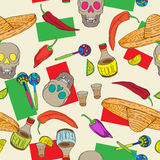 Cinco de mayo pattern Stock Image