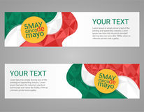 Cinco de Mayo poster. Greeting card mexican holiday vector illustration