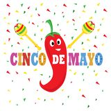 Cinco De Mayo Sign photos libres de droits