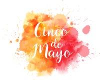 Cinco de Mayo splash blot vector illustration