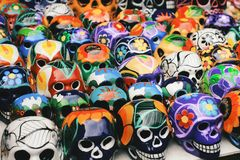 Cinco de mayo - Sugar skull Stock Photo