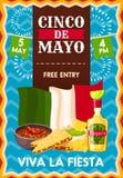 Cinco de Mayo-vakantieaffiche