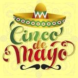 Cinco de Mayo. Vector Illustration royalty free illustration