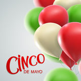 Cinco de Mayo Vector Illustration Photo libre de droits