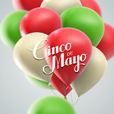 Cinco de Mayo Vector Illustration Image stock