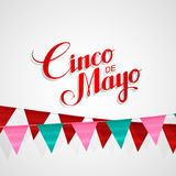Cinco de Mayo vector illustration. Stock Images
