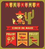 Cinco de Mayo. Vector illustration Royalty Free Stock Images
