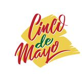 Cinco de Mayo vector typography. 5 of May on Spanish holiday vector illustration