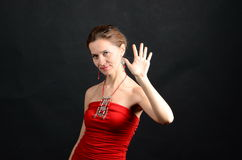Cinco dedos Fotos de Stock