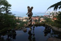 Cinco Dragon Lake imagen de archivo libre de regalías