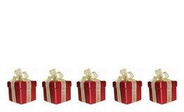 Cinco en una fila Imagen de archivo libre de regalías