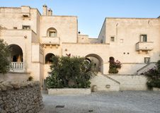 Cinco estrela Borgo Egnazia Recurso Savelletri Di Fasano, Itália Fotos de Stock Royalty Free