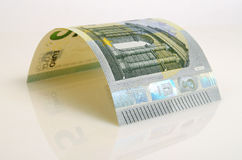 Cinco euro Foto de Stock Royalty Free