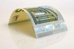 Cinco euros Foto de archivo libre de regalías