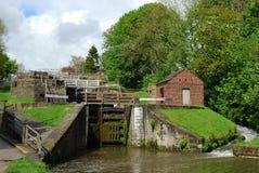 Cinco fechamentos da elevação em Bingley ocidental - yorkshire Imagem de Stock