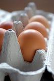 Cinco huevos Foto de archivo