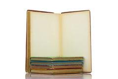 Cinco livros clássicos Imagem de Stock