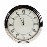 Cinco minutos a la medianoche. Fotografía de archivo