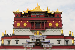 Cinco Mudras Mandala Building Lingshan Scenic Area Fotos de archivo libres de regalías