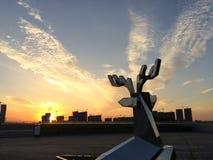 cinco nuvens Imagens de Stock Royalty Free