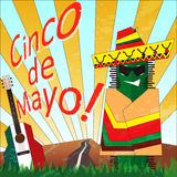 Cinco_1 Royalty Free Stock Photos