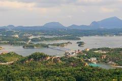 Cinco puentes de Amakusa Foto de archivo libre de regalías