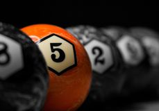Cinco são o número mágico Foto de Stock Royalty Free