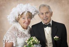 Cincuenta años junto Fotografía de archivo libre de regalías