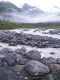Cincuenta millas de Whittier Alaska Imagen de archivo