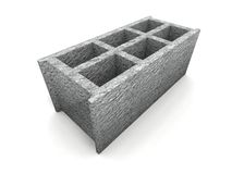 Cinder-block Royalty Free Stock Photography